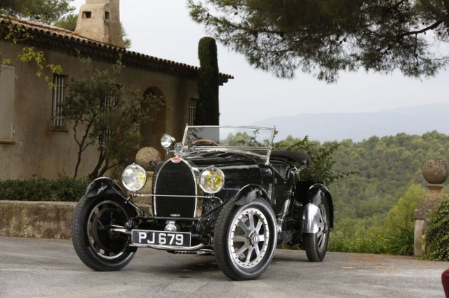 Bugatti Type 43 Grand Sport 3/4 places 1928