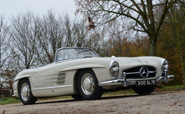 Mercedes Benz 300 SL Roadster avec hard-top 1957